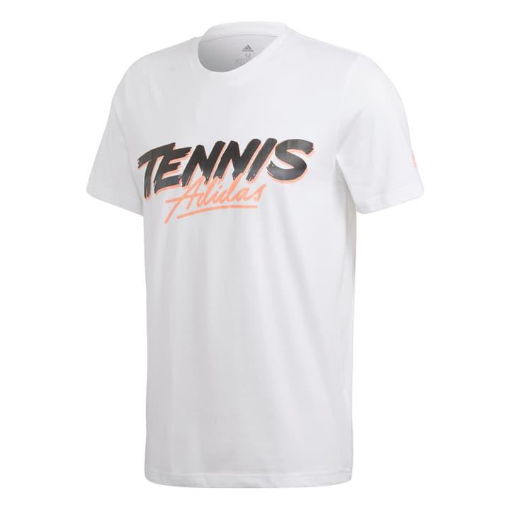 Script Graph T Herren-T-Shirts Adidas 473234800310 Farbe weiss Grösse S Bild-Nr. 1