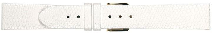 LIZARDGRAIN12 blanc bracelet en cuir 760919701210 Photo no. 1