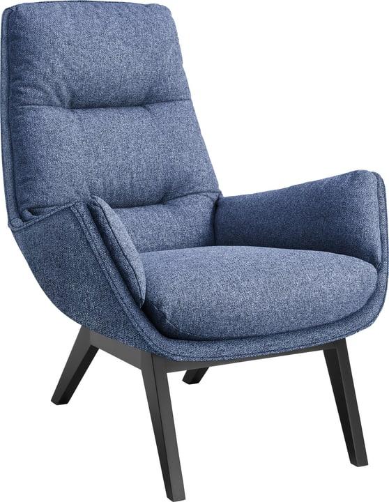 ANDRES Poltrona 402473407040 Colore Blu Dimensioni L: 83.0 cm x P: 94.0 cm x A: 97.0 cm N. figura 1