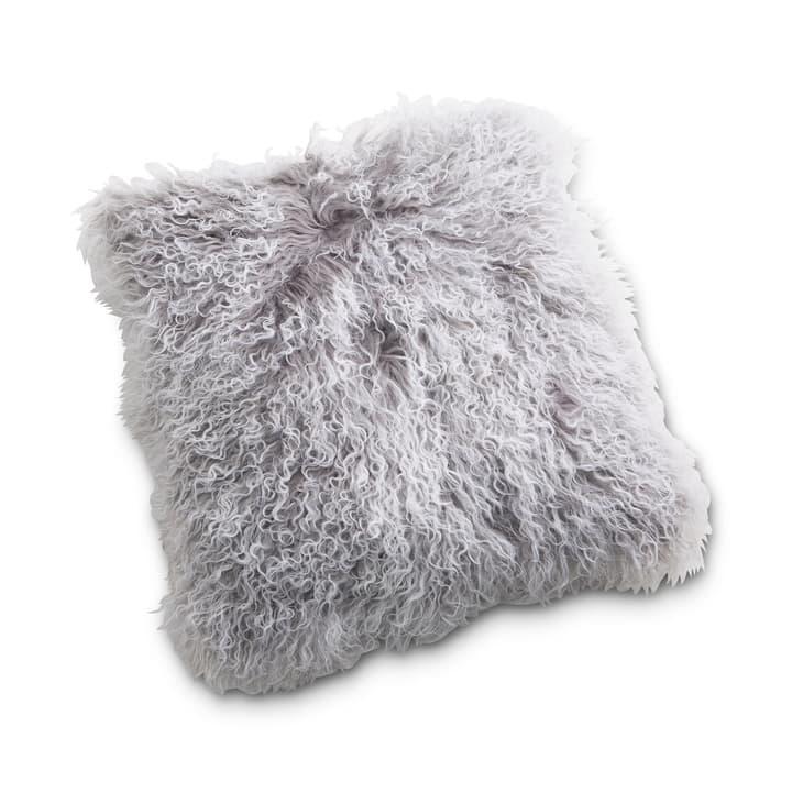 PAMDA peau de mouton coussin 378085100000 Couleur Gris Dimensions L: 40.0 cm x H: 40.0 cm Photo no. 1