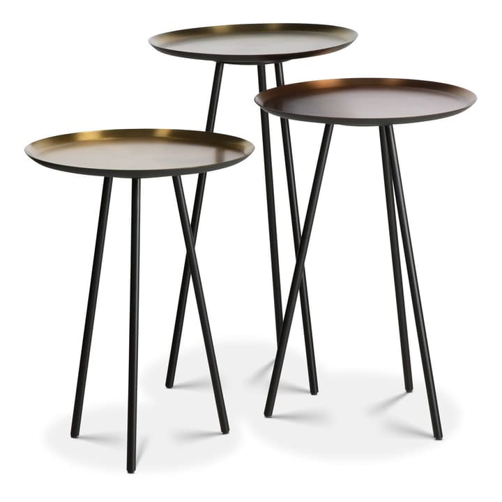 ASHANTI Set de 3 tables d'appoint 360922300000 Photo no. 1