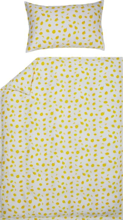 LIMONES Federa per cuscino raso 451308410650 Colore Giallo Dimensioni L: 65.0 cm x A: 65.0 cm N. figura 1