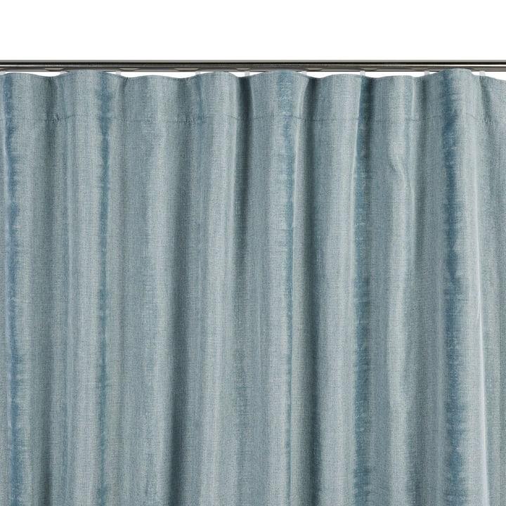 TARYN Rideau prêt à poser blackout 372078100000 Couleur Bleu clair Dimensions L: 135.0 cm x H: 270.0 cm Photo no. 1