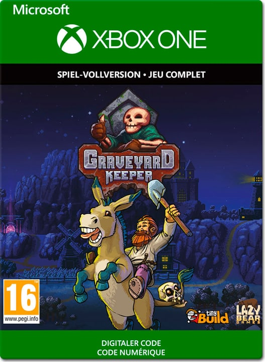 Xbox One - Graveyard Keeper Download (ESD) 785300141392 N. figura 1