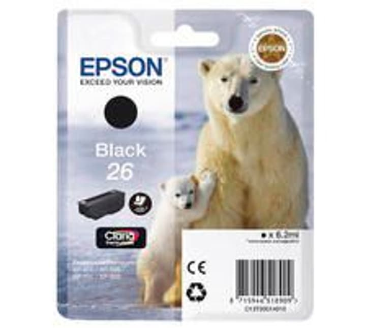 T260140 Tintenpatrone schwarz Tintenpatrone Epson 796081300000 Bild Nr. 1