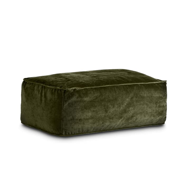VESTA pouf 360019820702 Dimensions L: 94.0 cm x P: 66.0 cm x H: 36.0 cm Couleur Vert Photo no. 1