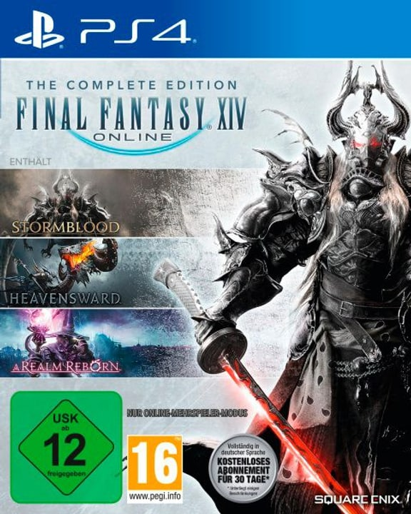 PS4 - Final Fantasy XIV Complete Edition Physique (Box) 785300122355 Photo no. 1