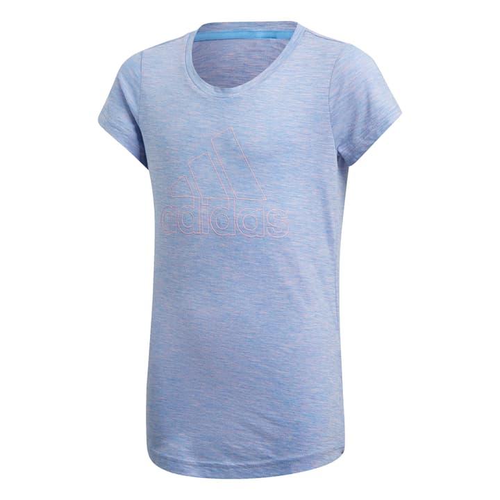 ID Winner T-Shirt Mädchen-T-Shirt Adidas 464597812840 Farbe blau Grösse 128 Bild-Nr. 1