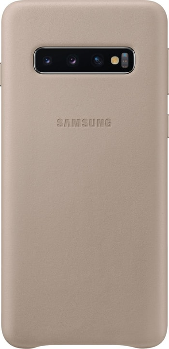 Leather Cover Gray Custodia Samsung 785300142451 N. figura 1