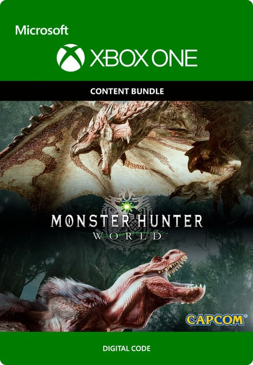 Xbox One - Monster Hunter: World - Deluxe Edition Digitale (ESD) 785300135496 N. figura 1