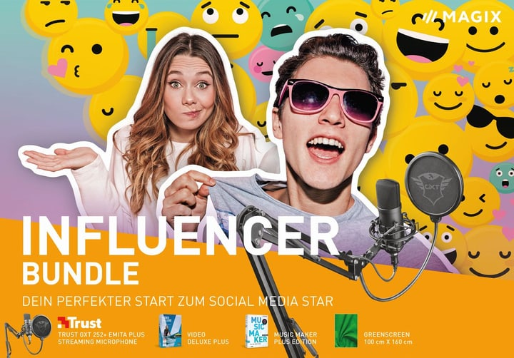 Influencer Bundle 2020 [PC] (D) Physisch (Box) Magix 785300146511 Photo no. 1