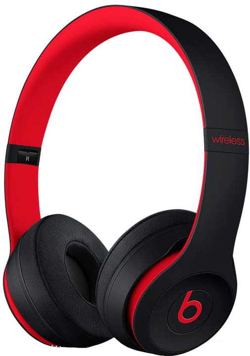 Solo3, Defiant Black-Red Casque On-Ear Beats By Dr. Dre 785300136819 Photo no. 1