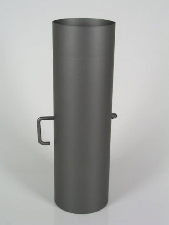 Rauchrohr 25 cm, mit Drosselklappe 678019800000 Bild Nr. 1