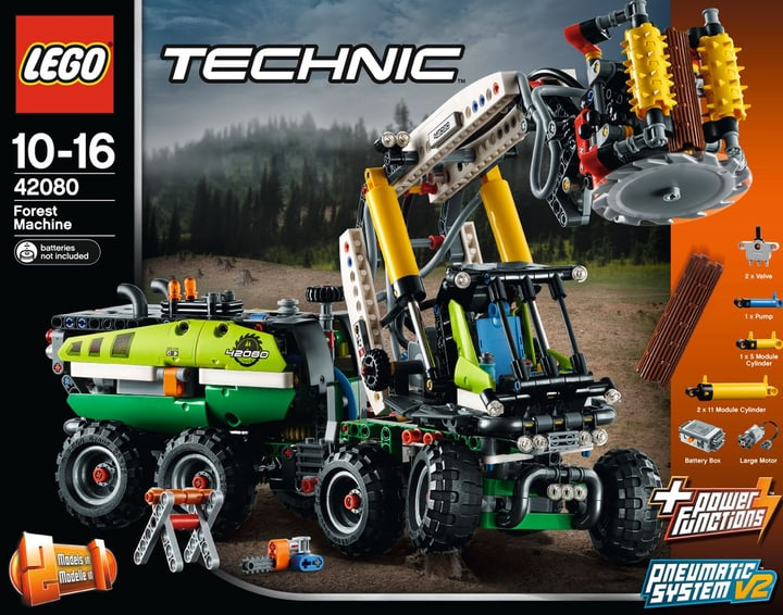 Lego Technic Le camion forestier 42080 748889500000 Photo no. 1