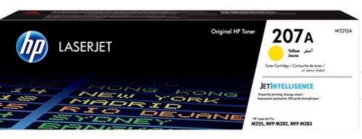 Toner W2212A 207A jaune Toner HP 798276100000 Photo no. 1