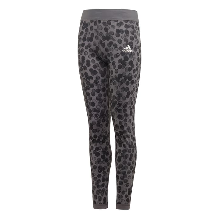 Reversible Tights Leggings pour fille Adidas 466938812886 Couleur antracite Taille 128 Photo no. 1