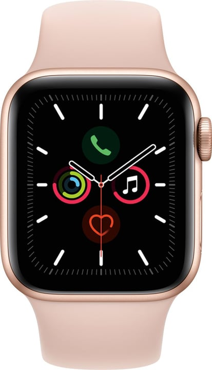 Watch Series 5 LTE 40mm gold Aluminium Pink Sand Sport Band Smartwatch Apple 785300146939 Photo no. 1