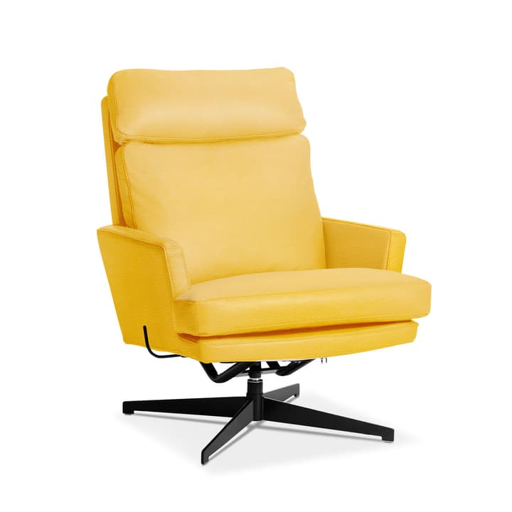 AIDEN Sessel 360040871303 Grösse B: 75.0 cm x T: 90.0 cm x H: 105.0 cm Farbe Gelb Bild Nr. 1