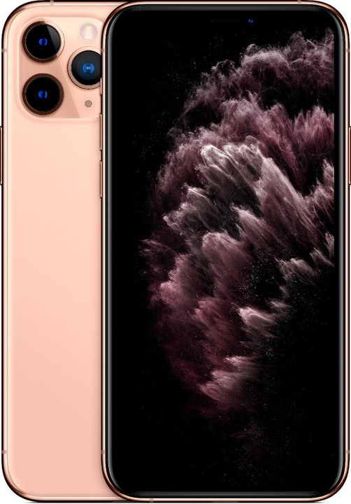 iPhone 11 Pro 64GB Gold Smartphone Apple 794645100000 Couleur Or Photo no. 1