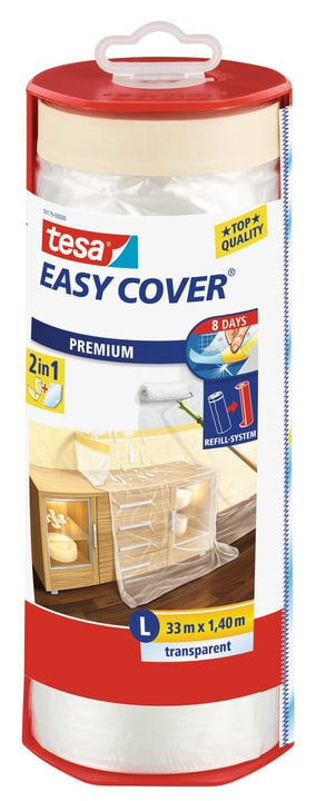 Easy Cover® PREMIUM Film - L, Abroller gefüllt mit 33m:1400mm Tesa 676768600000 Bild Nr. 1
