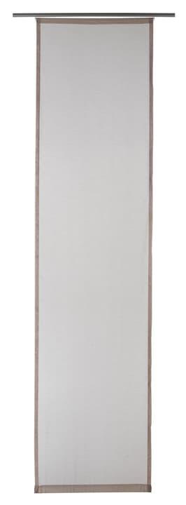 GASPAR Flächenvorhang 430569030469 Farbe Taupe Grösse B: 60.0 cm x H: 245.0 cm Bild Nr. 1