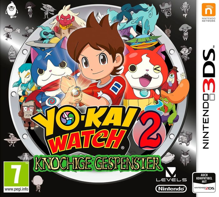 3DS - Yo-Kai Watch 2: Knochige Gespenster 785300122030 Photo no. 1
