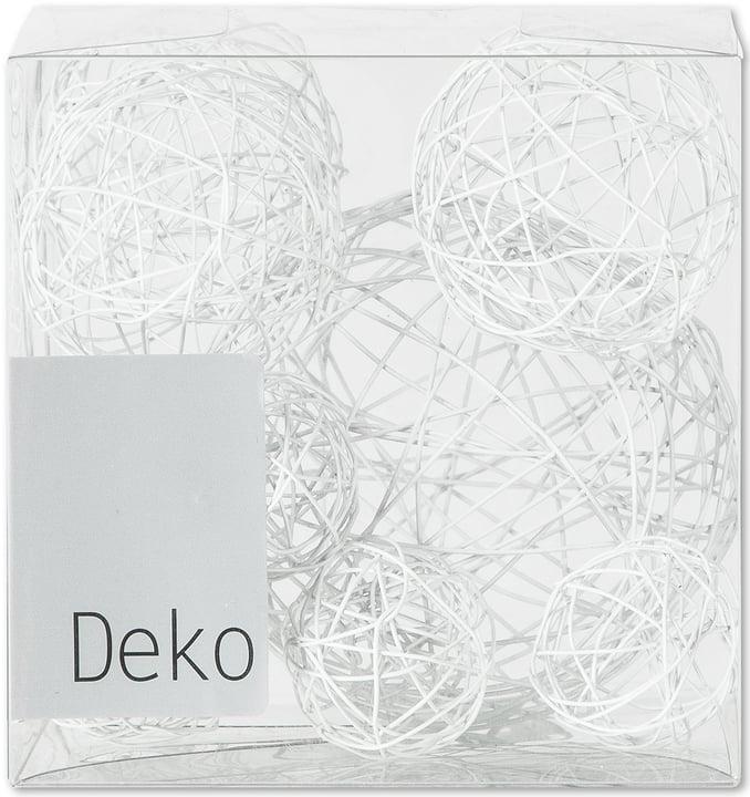 Bocce in filo decorative, 10 pz. Do it + Garden 655870300000 Colore Bianco Taglio L: 10.0 cm x P: 10.0 cm x A: 10.0 cm N. figura 1