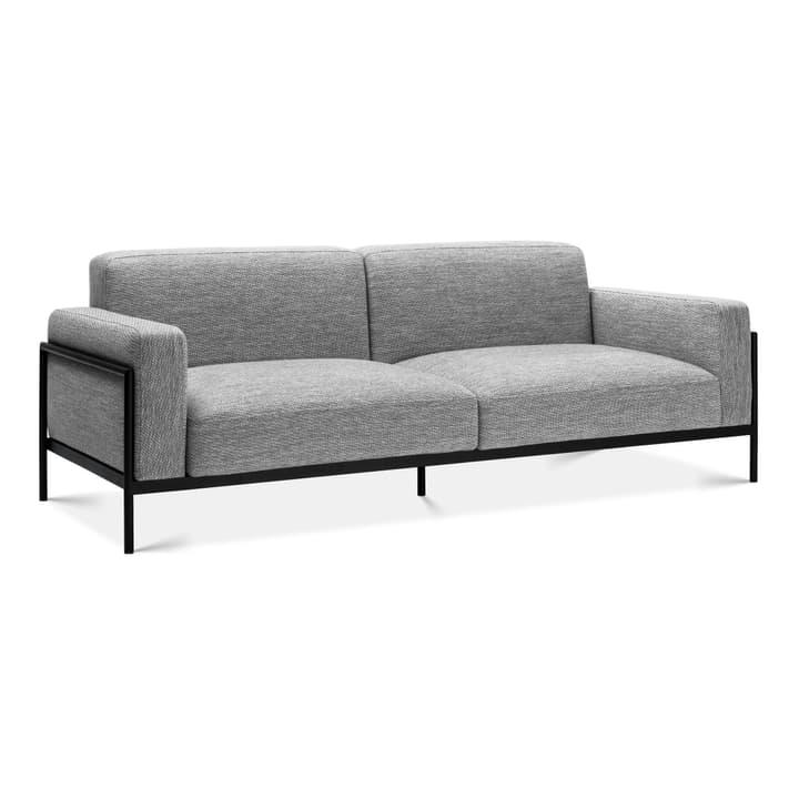 SOMA 2er Sofa Edition Interio 360442320382 Grösse B: 226.5 cm x T: 88.5 cm x H: 85.0 cm Farbe Mittelgrau Bild Nr. 1