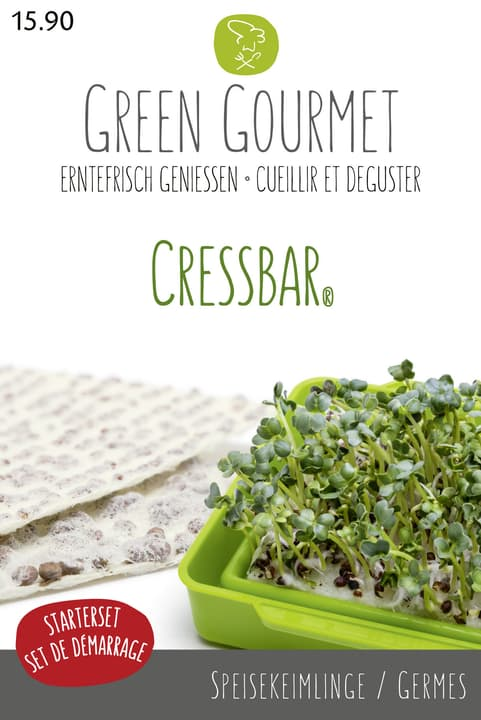 Cressbar - Gourmetbox Graines germées 286920600000 Photo no. 1