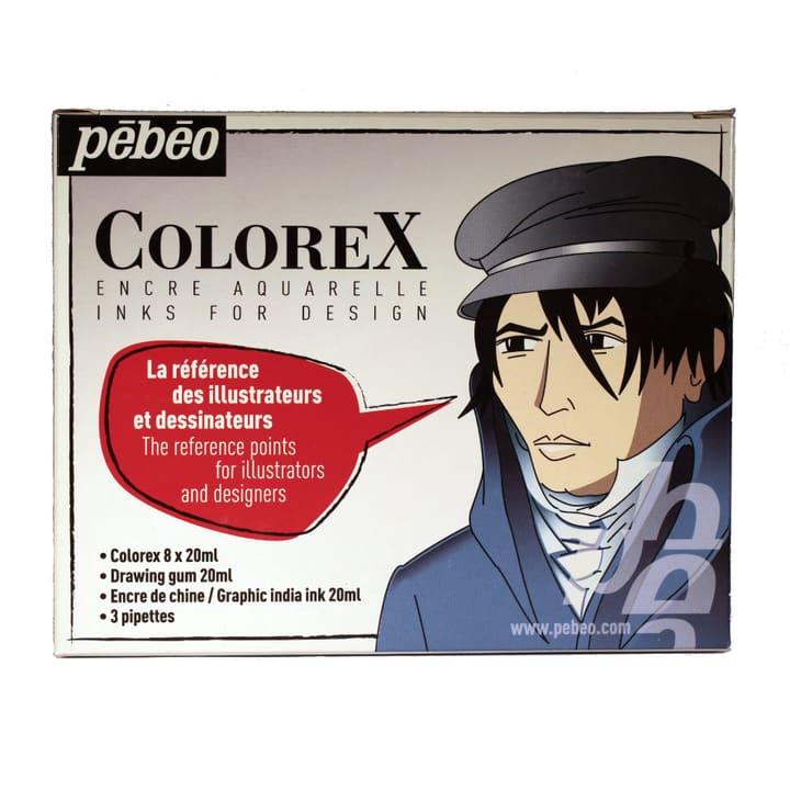Colorex 8x20ml +2Hilfsmittel Pebeo 665468000000 Bild Nr. 1