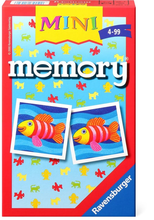 Ravensburger Mini memory 744928100000 Photo no. 1