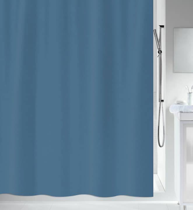Duschvorhang Primo spirella 675268500000 Farbe Blau Grösse 180x200cm Bild Nr. 1