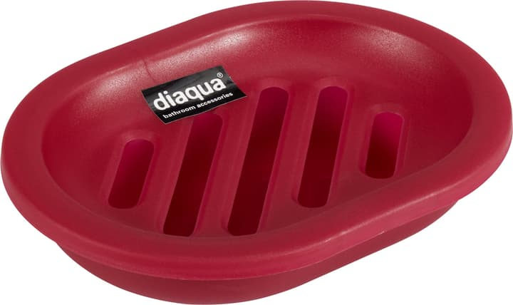 Porte-savonnette diaqua 675032800000 Couleur Cerise transparent Taille 13.5 X 10.1 X 2.8 CM Photo no. 1