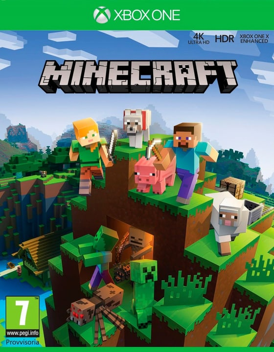 Xbox One - Minecraft Super Plus Pack Physique (Box) 785300129350 Photo no. 1