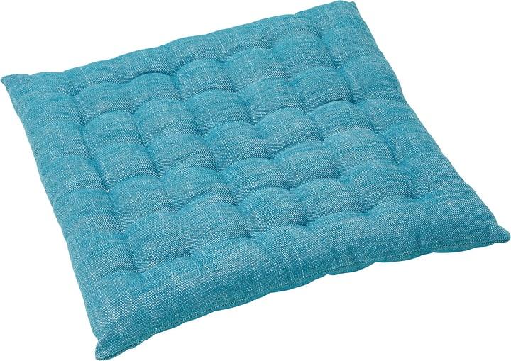 TIAGO Coussin d'ass. 450714840244 Couleur Turquoise Dimensions L: 40.0 cm x H: 40.0 cm Photo no. 1