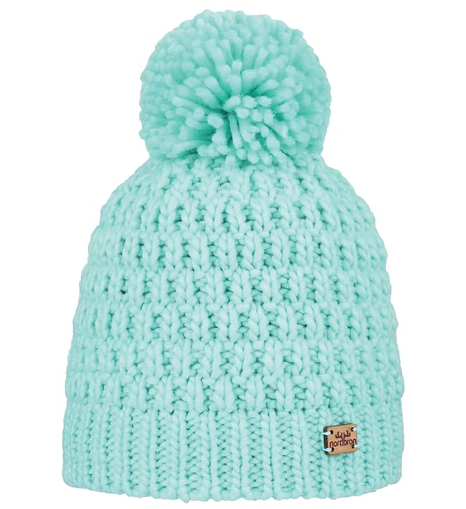 MELL BEANIE Bonnet pour enfant Nordbron 464513055041 Couleur bleu claire Taille 55 Photo no. 1
