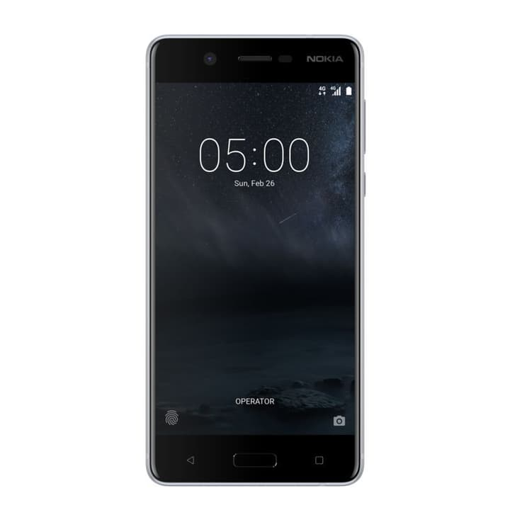 5 Mobiltelefon argent Nokia 794620700000 Photo no. 1