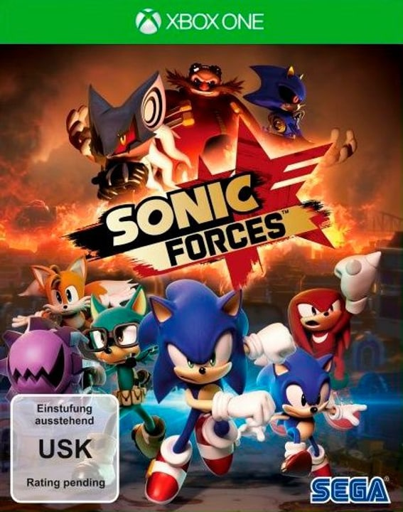 Sonic Forces - Day One Edition [XONE] (D Box 785300129663 Bild Nr. 1