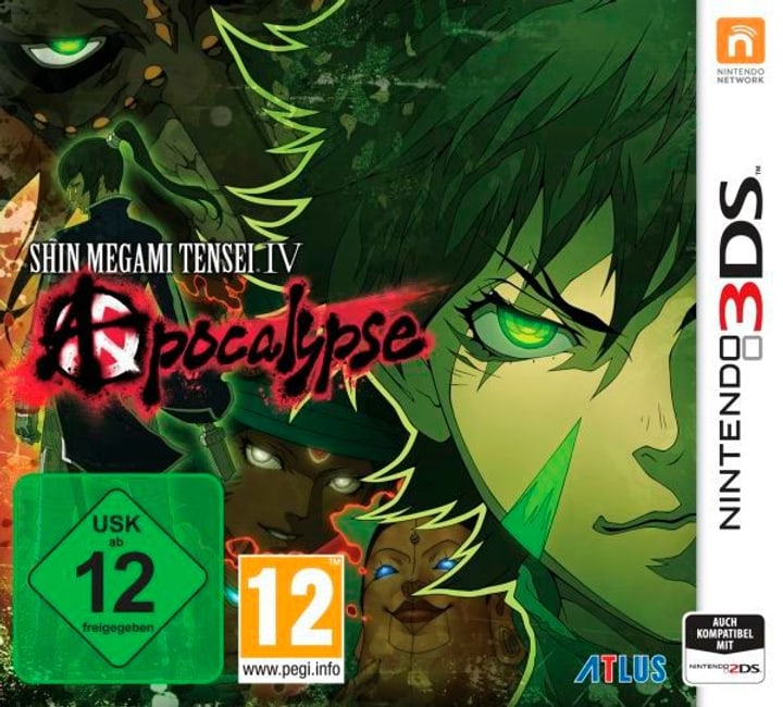3DS - Shin Megami Tensei 4: Apocalypse 785300121937 Photo no. 1