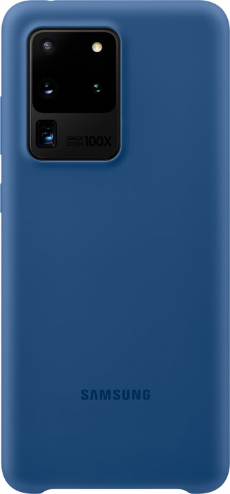 Silicone Cover navy Hülle Samsung 785300151172 Bild Nr. 1