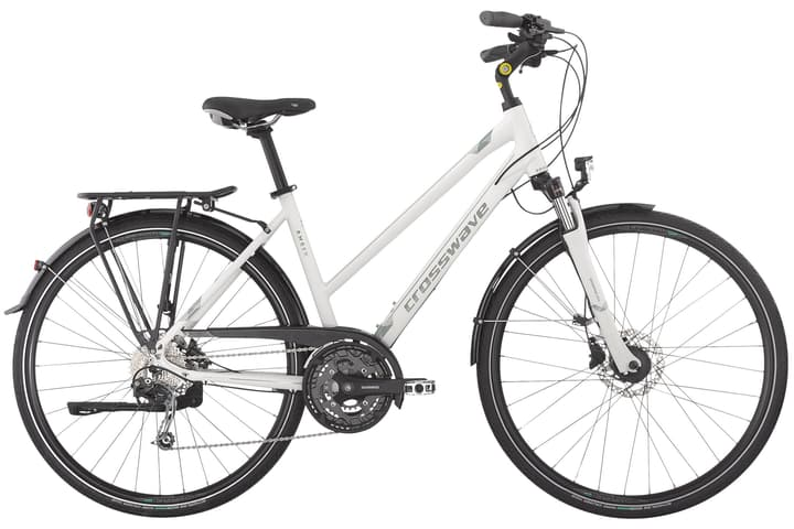 Amber Trekkingbike Crosswave 464815904010 Rahmengrösse 40 Farbe weiss Bild-Nr. 1
