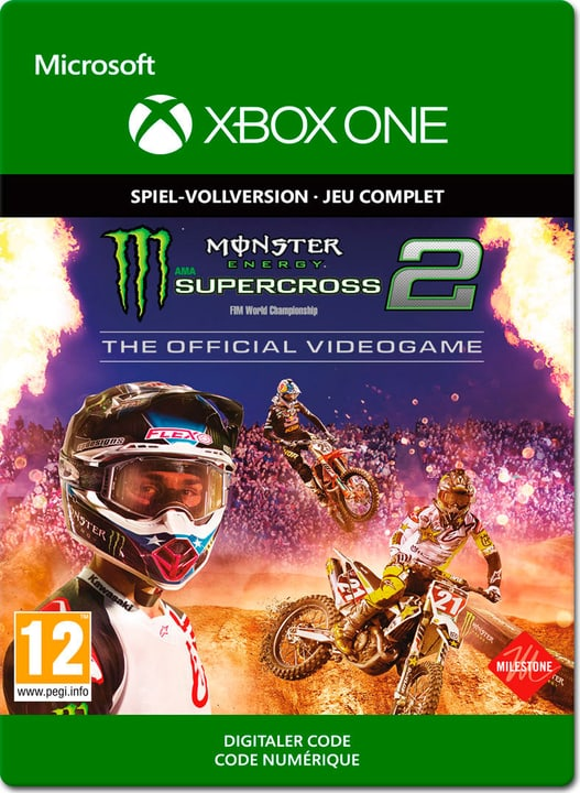 Xbox One - Monster Energy Supercross 2 The Official Videogame Download (ESD) 785300141860 Bild Nr. 1
