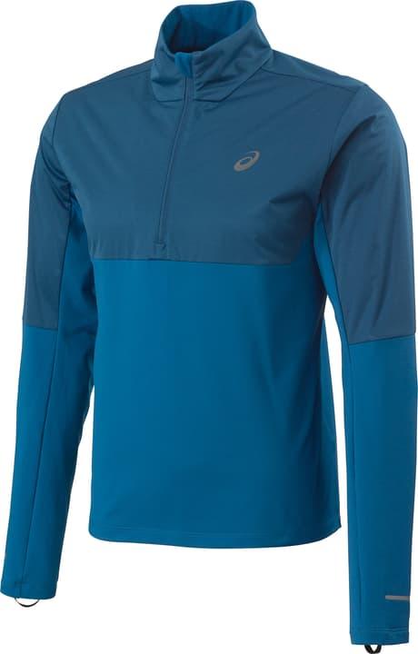 Windblock 1/2 Zip Herren-Pullover Asics 470187300540 Farbe blau Grösse L Bild-Nr. 1