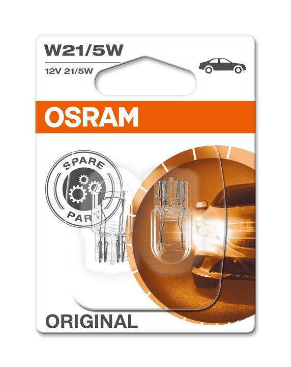 Original W21/5W W3x16Q 2 pcs. Ampoule Osram 620475500000 Photo no. 1