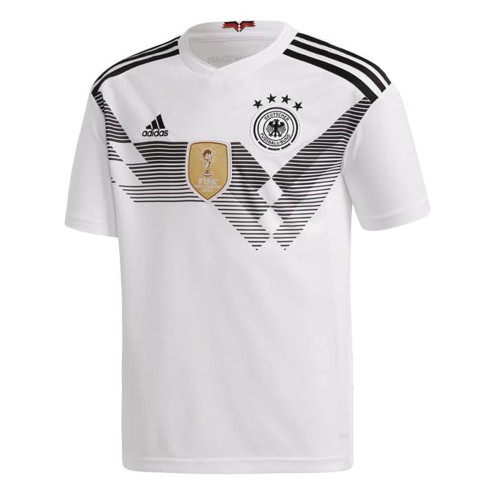 DFB Home Jersey Youth Réplique pour enfant Deutschland Adidas 464520112810 Couleur blanc Taille 128 Photo no. 1