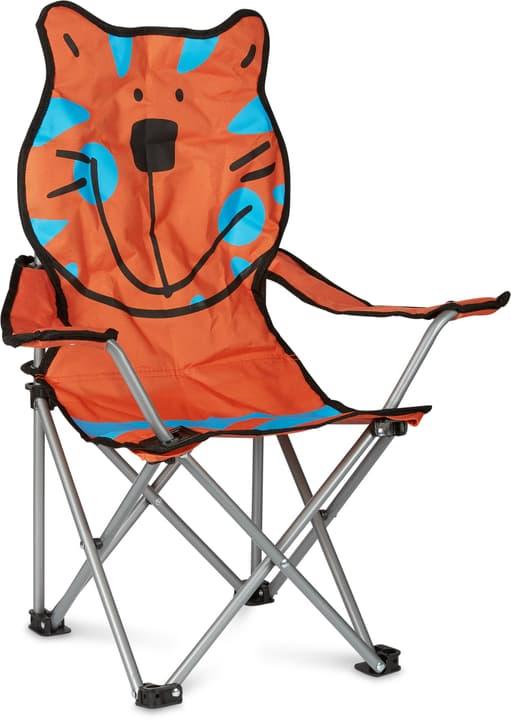 Tiger Trekking-Sessel 753019700034 Farbe Bezug Orange Grösse B: 35.0 cm x T: 35.0 cm x H: 65.0 cm Bild Nr. 1