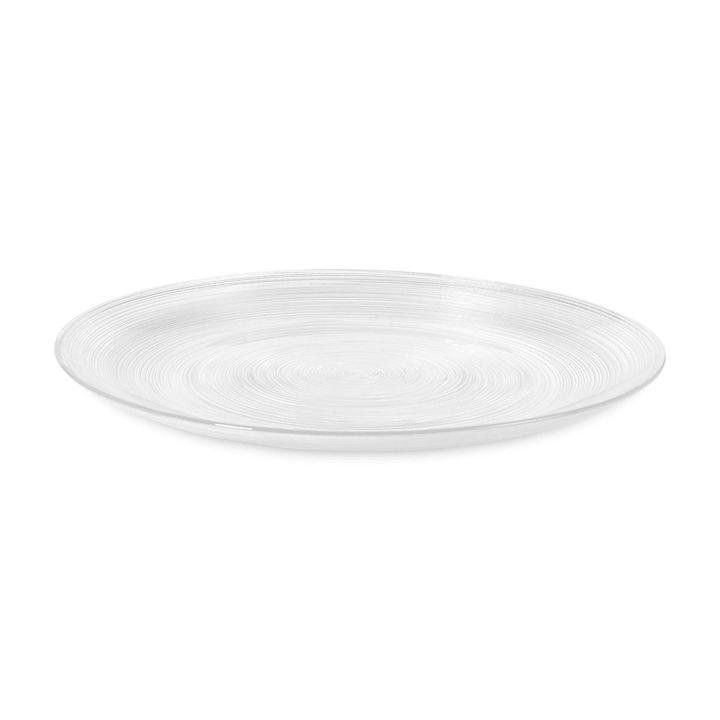 CIRCLE Piatto piano 393002286726 Colore Trasparente Dimensioni L: 28.0 cm x P: 28.0 cm N. figura 1