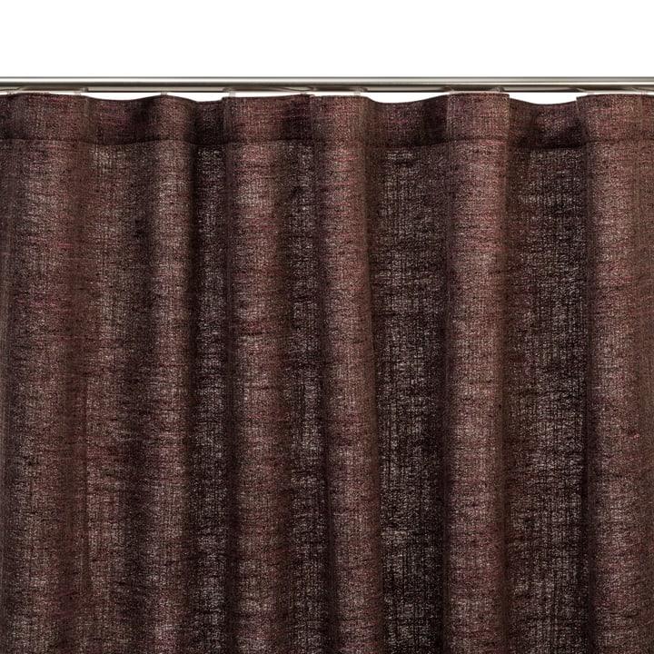 IMPERIA Fertigvorhang blickdicht 372074900000 Grösse B: 150.0 cm x H: 270.0 cm Farbe Aubergine Bild Nr. 1