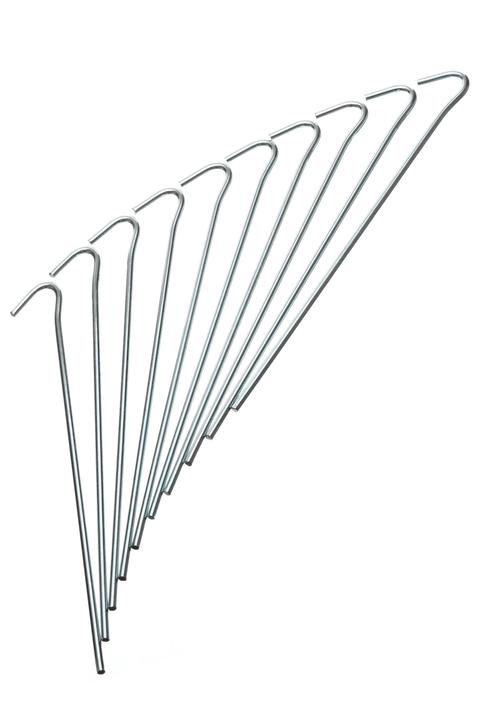 Spilloni per tenda 24 cm\, Ø 4 mm\, 10 Trevolution 490526200000 N. figura 1