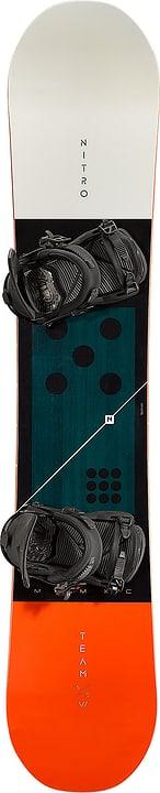 Team Camber inkl. Zero Snowboard Unisex Nitro 494546415520 Farbe schwarz Länge 155 Bild-Nr. 1